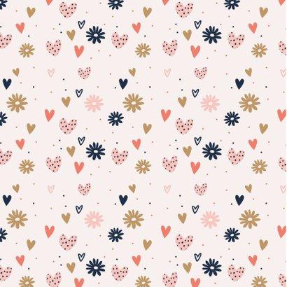 Liefde - veel liefs bloemen hartjes 2