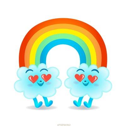 Liefde wolken Emoji 2
