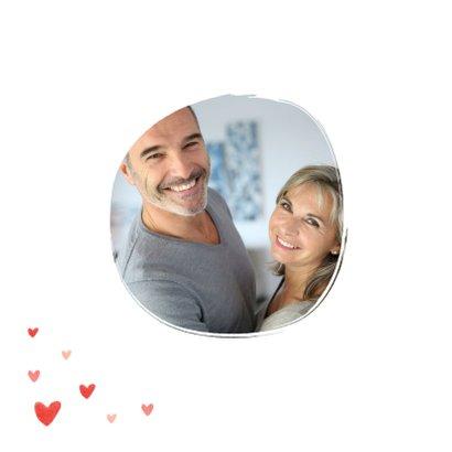 Liefdekaart foto hartjes persoonlijk liefde 2