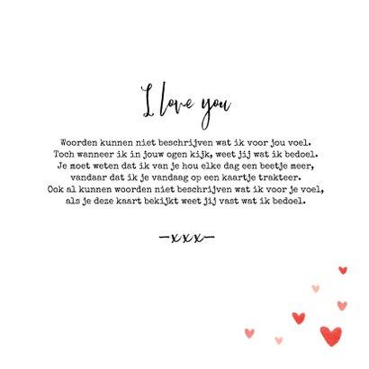 Liefdekaart foto hartjes persoonlijk liefde 3