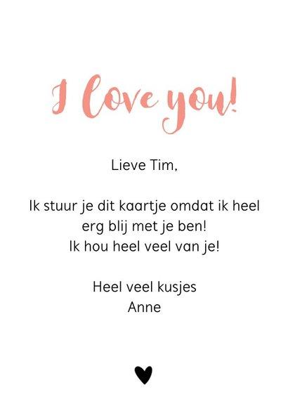 Liefdekaart - Ik lief jou 3