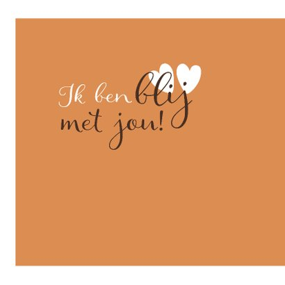 Liefdekaart jij maakt me blij 2