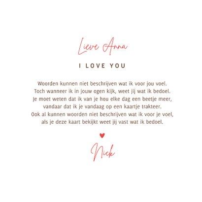 Liefdekaart otters hartjes liefde vriendschap 3