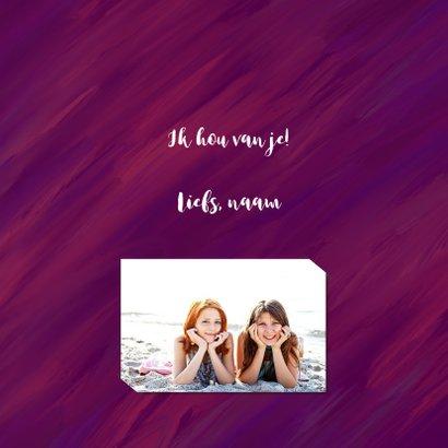 Liefdeskaart I love us 3