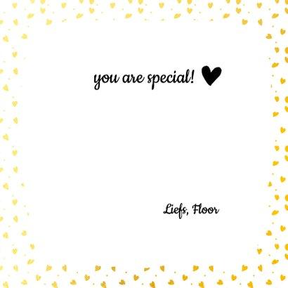 Liefdeskaart i love you hartjes 3