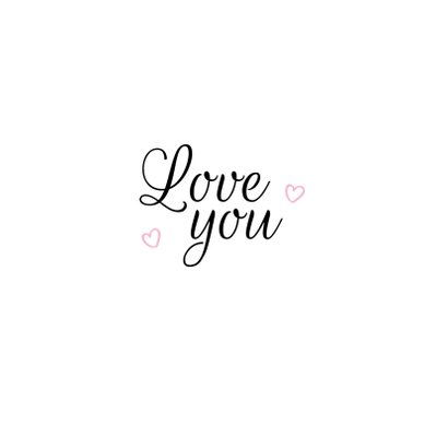 Liefdeskaart - Love biggetje 3