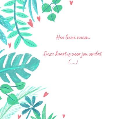 Liefdeskaart planten liefs 2