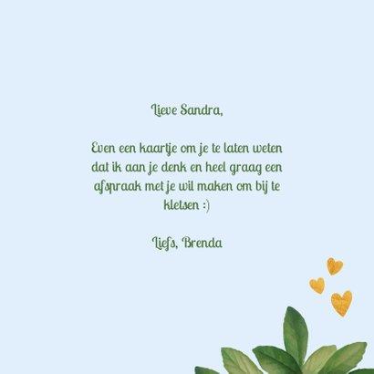 Liefs - botanische liefde kaart 3