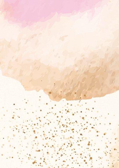 Liefs en een dikke knuffel - watercolors 2