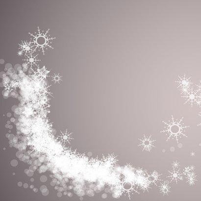 Lieve kerstkaart beter jaar met sterren en dieren 2