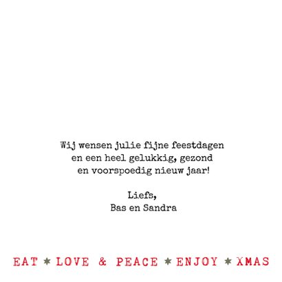 llustratie kerstkaart kerstboom met tekst 3