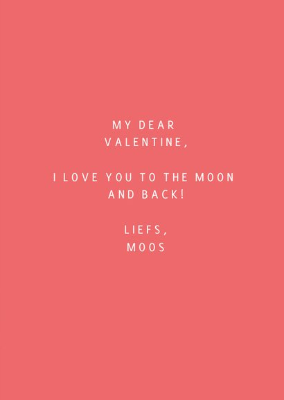 Love you to the moon and back valentijnskaart 3