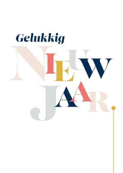 Magazine typografie kerstkaart 3