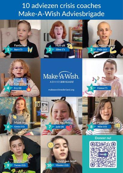 Make-A-Wish 10 adviezen crisis coaches Adviesbrigade  2