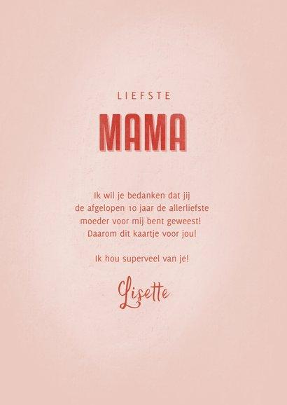 Make-A-Wish kaart de liefste mama 3