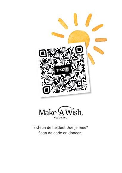 Make-A-Wish kaart na regen komt zonneschijn 2