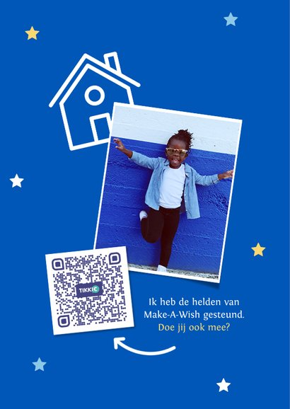 Make-A-Wish kaart staysafe 2