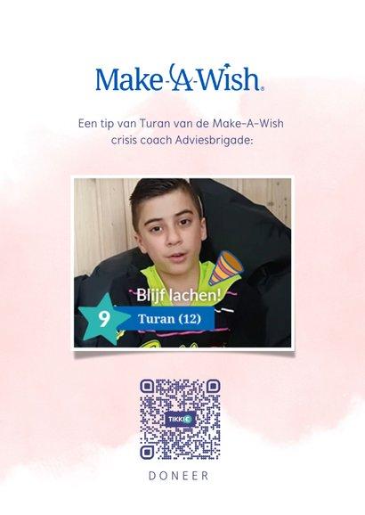 Make-A-Wish zomaar kaart always keep your smile 2