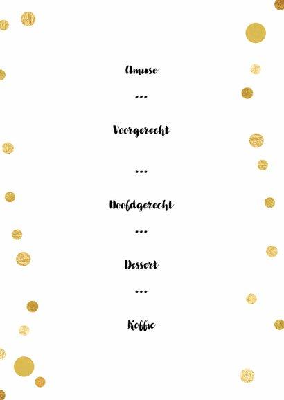 Menu Kerst confetti - SG 3