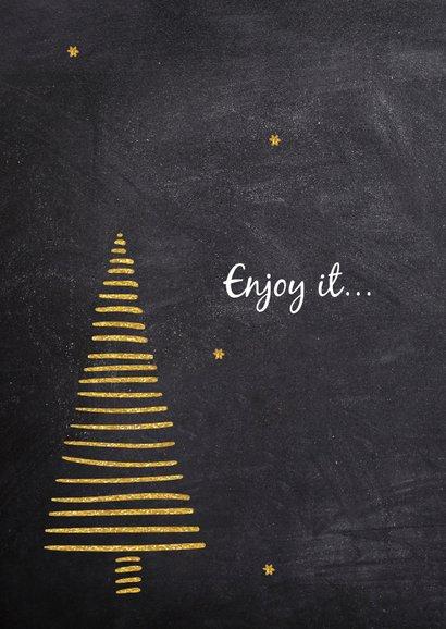 Menukaart voor de kerst 2