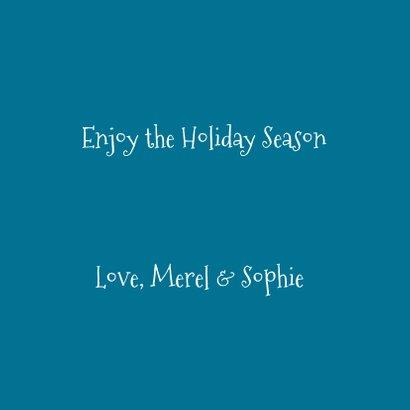 Merry X-Mas Blue Christmas balls 2020 3