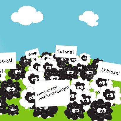 Mo Card Verhuiskaarten humor ik ga verhuizen 3