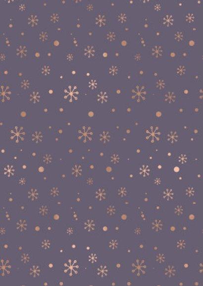 Modern Rose Gold Sneeuw 2