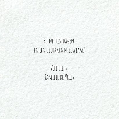 Moderne kerstkaart met geïllustreerde tekst xmas 3