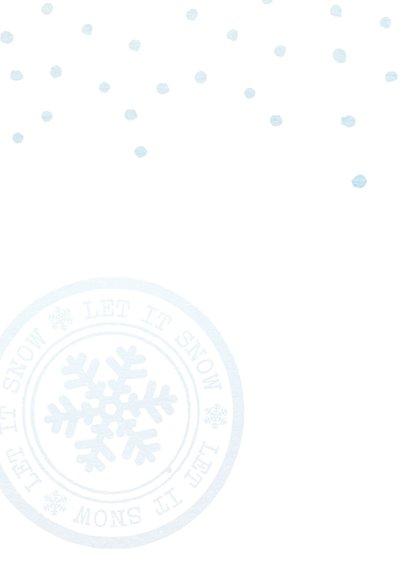 Moderne zakelijke kerstkaart 2020 label 2