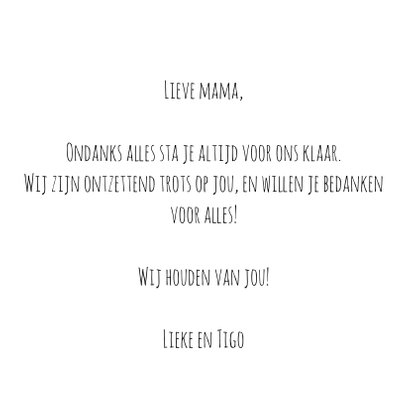 Moederdag | Amazing mom 3