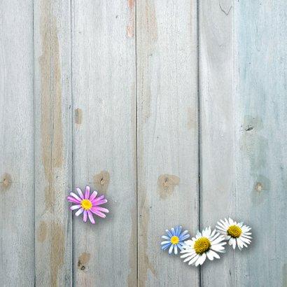 Moederdag bloemen hart 2