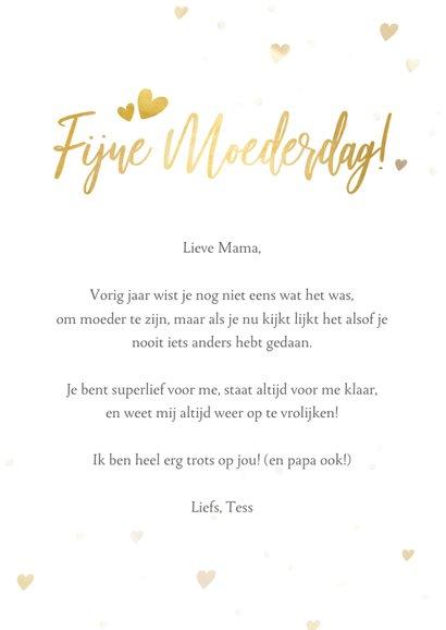 Moederdag fotokaart ik vind je lief voor de liefste mama 3