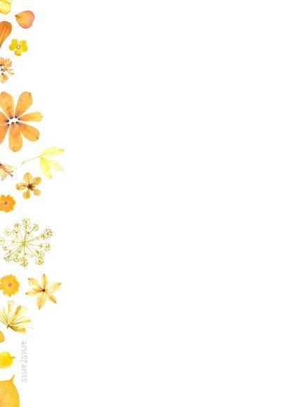 Moederdag gouden bloemen 2