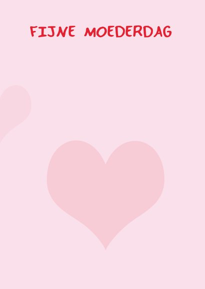 Moederdag kristy's 1 hart - RN 3