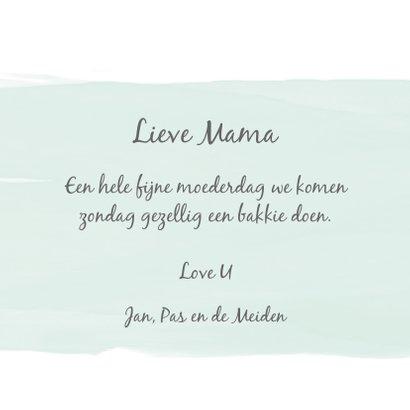 Moederdag liefste Mama goud 3