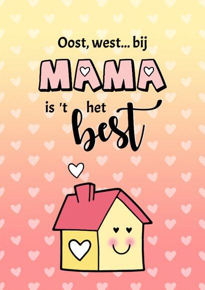 Moederdag Thuis is waar Mama is 3