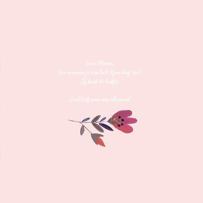 Moederdag Zwanen en Bloemen 3