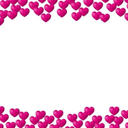 Moederdagkaart met hartjes 1 uit duizenden 2