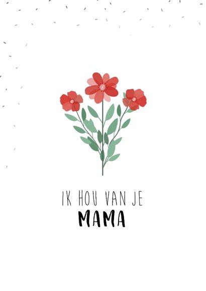 Moederdagkaart voor de allerliefste moeder! 2