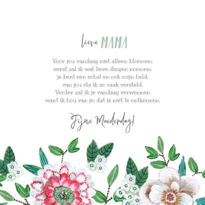Moederdagkaarten frisse bloemen voor mama of oma 3