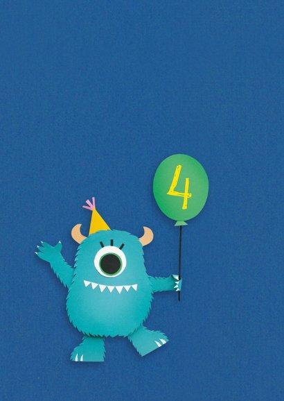 Monster met ballon 2