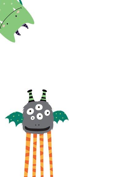 Monsterkaart kinderfeestje - DH 2