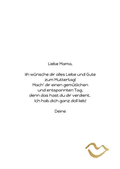 Muttertagskarte 'Best Mom ever' 3