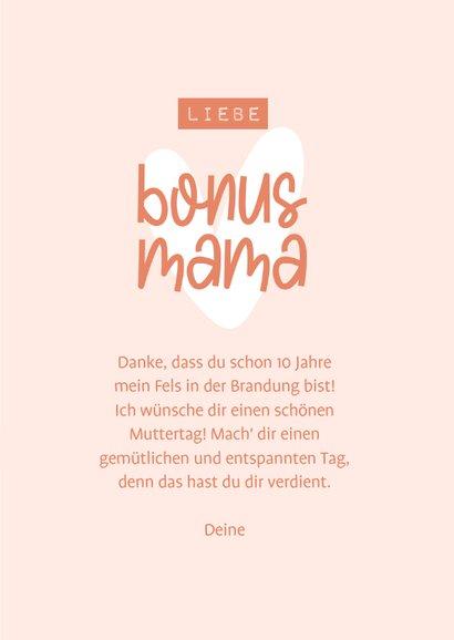 Muttertagskarte Bonusmama 3