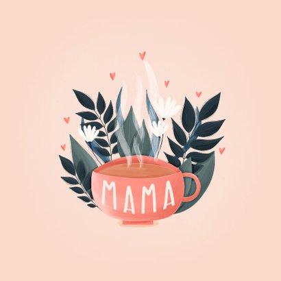 Muttertagskarte Gutschein zum High Tea mit Foto 2