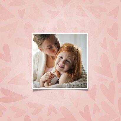 Muttertagskarte Herzen 'Die beste Mama das bist du!' 2