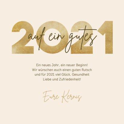 Neujahrskarte Fotos 'Auf ein gutes...' 3