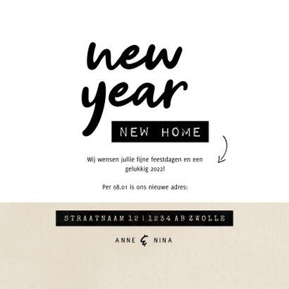 New year new home huisje kraft met hartjes 3