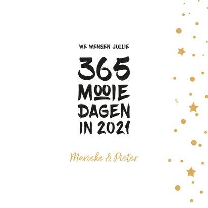 Nieuwjaar 365 mooie dagen in 2021 3
