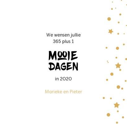 Nieuwjaar 366 mooie dagen in 2020 3